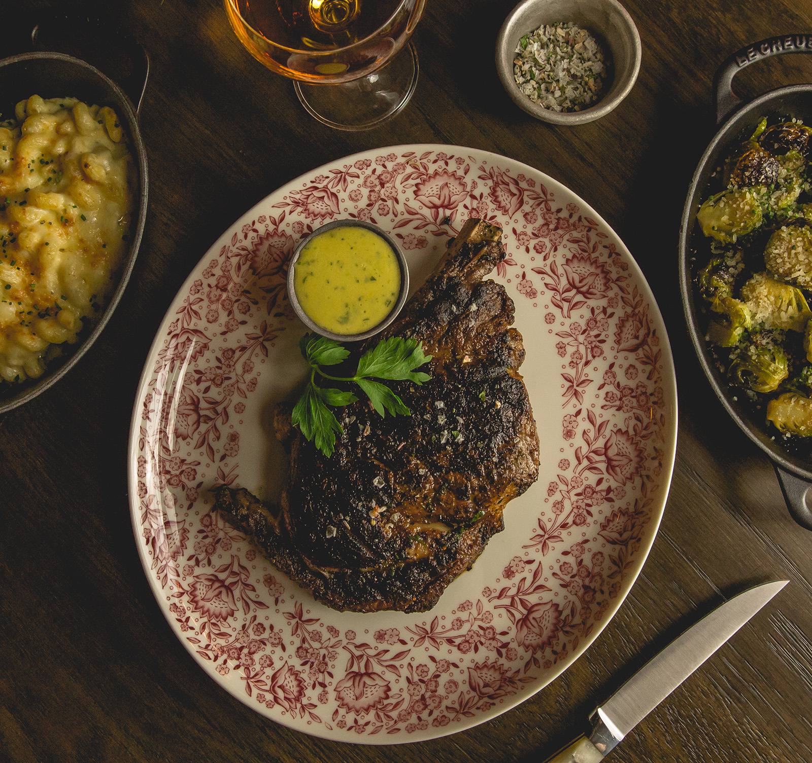 LV Steak Bone-in-ribeeye