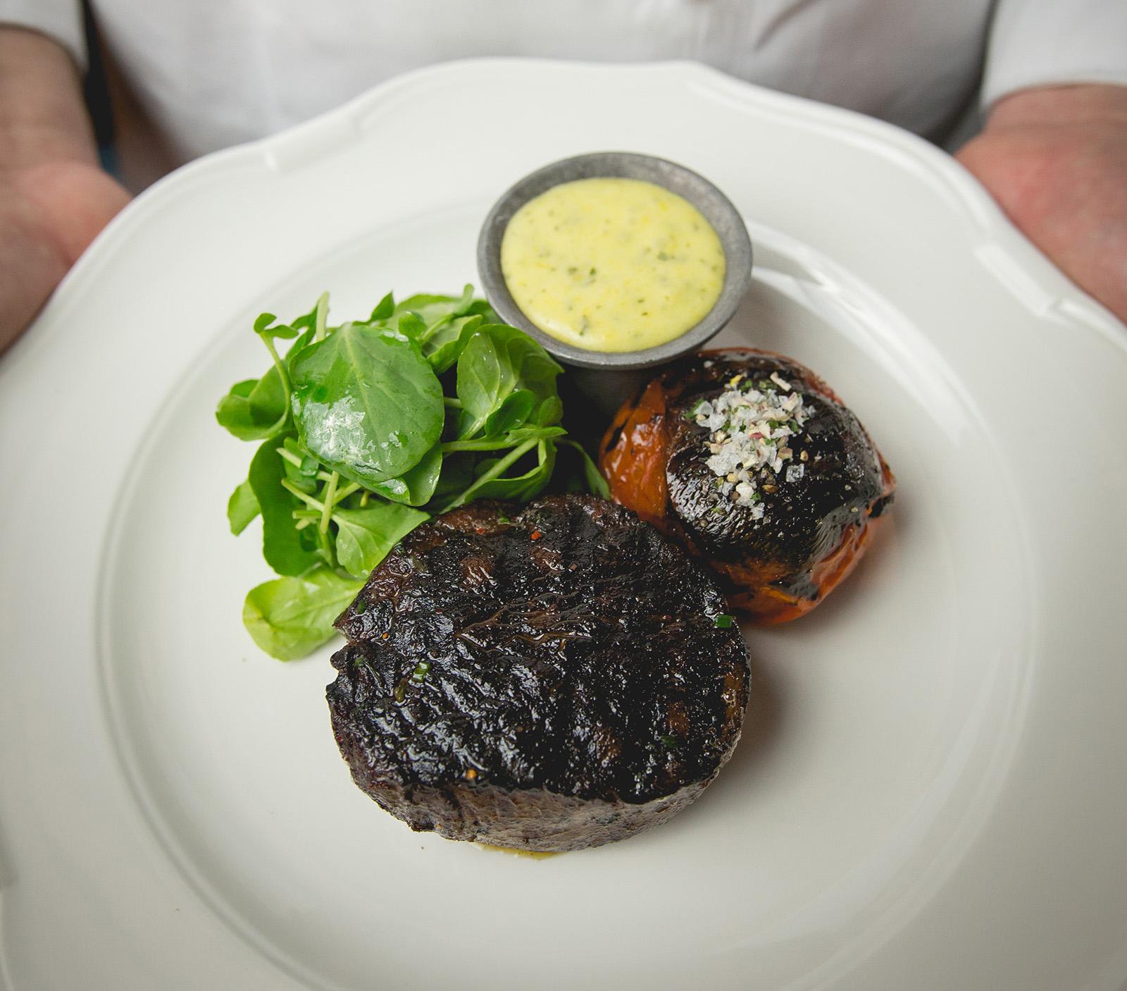 LV Steak Plated