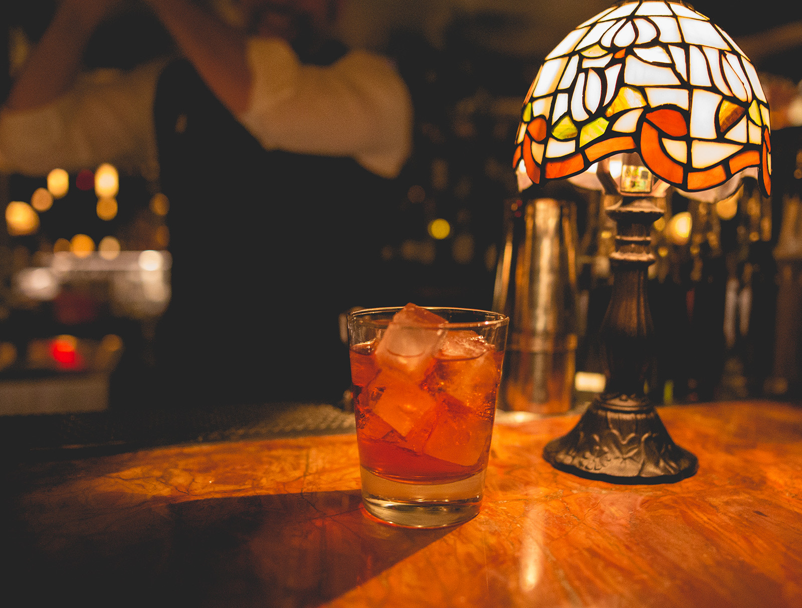 LV cocktail lamp