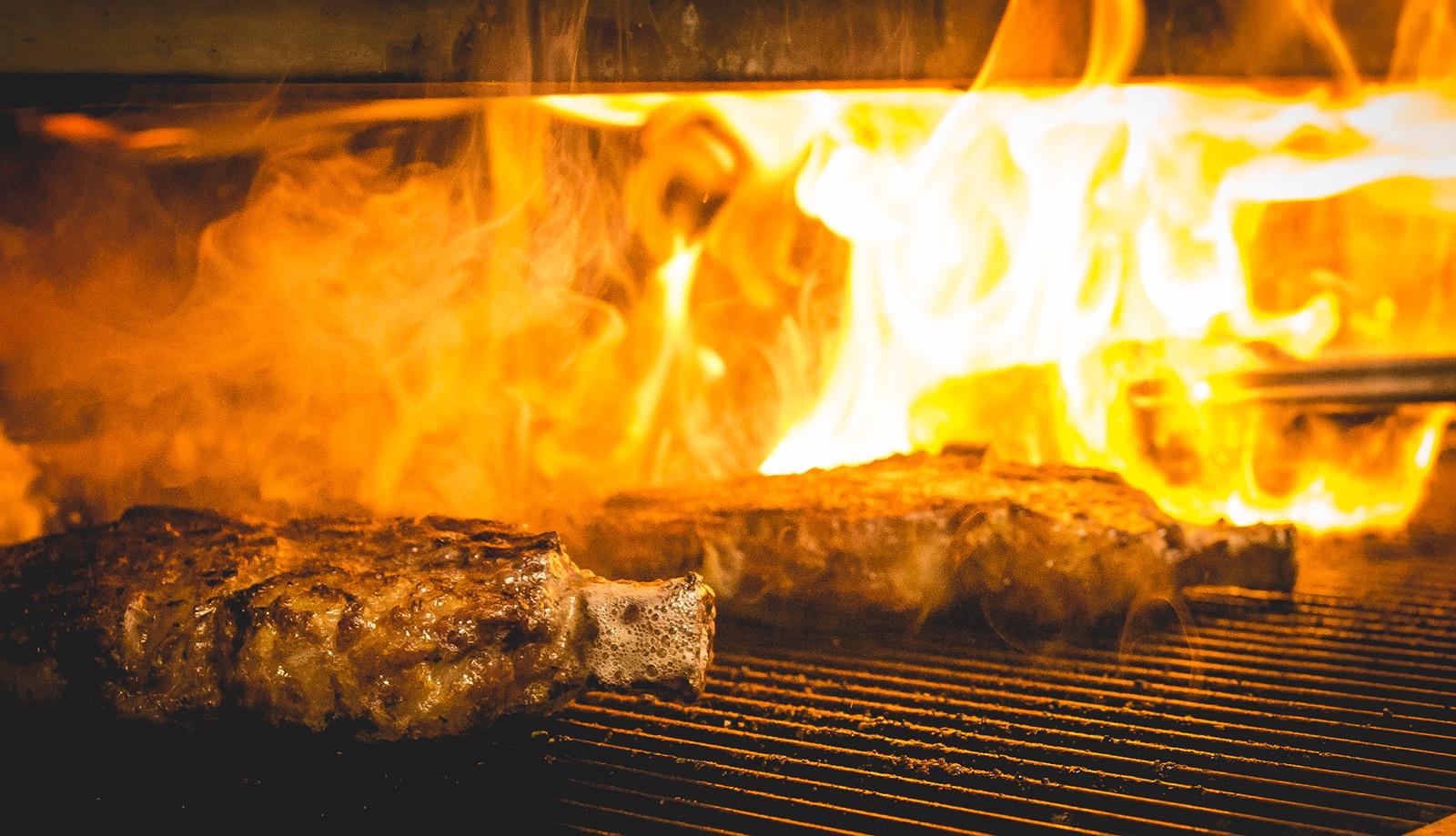 LV Flame Steaks