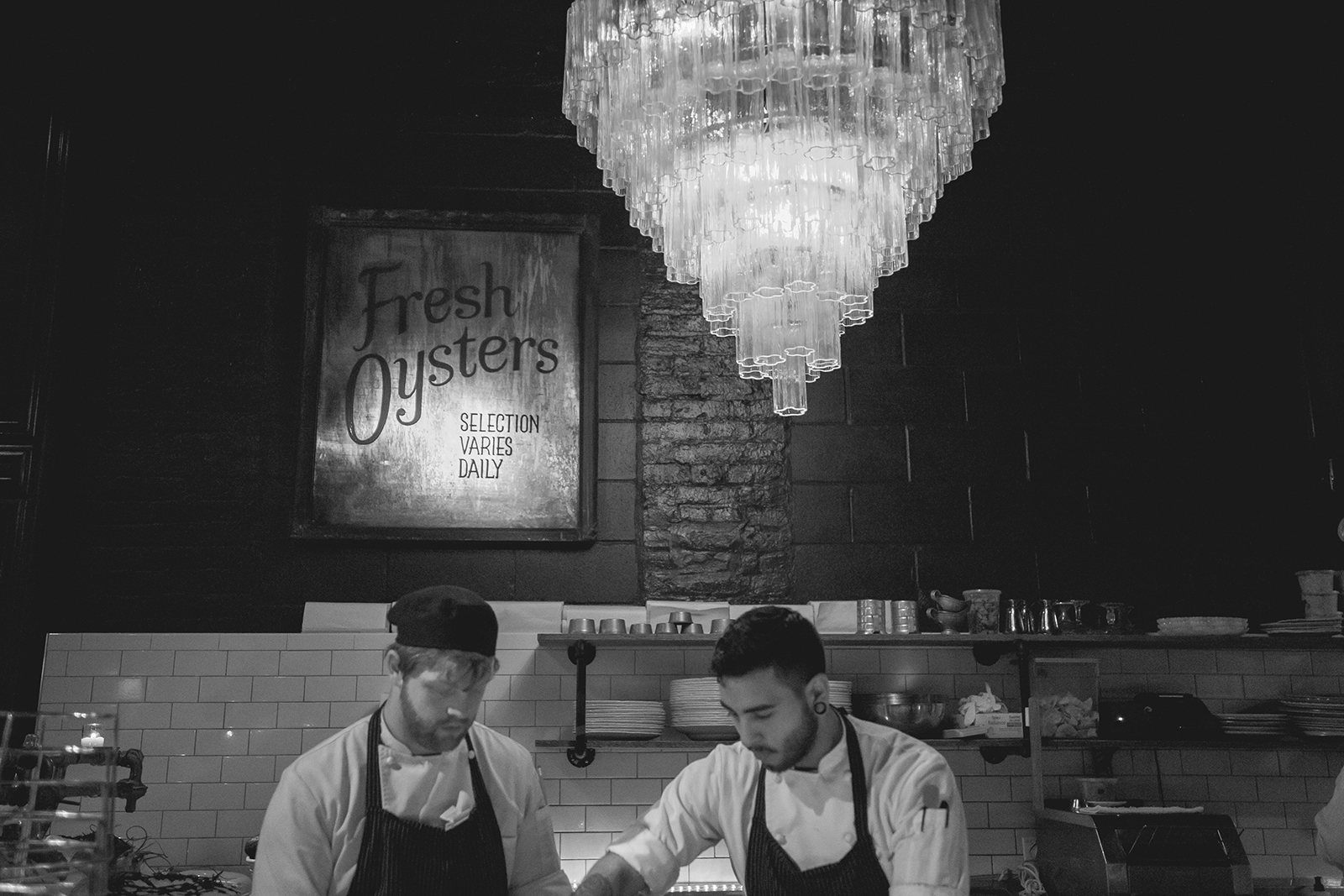 Oyster chefs